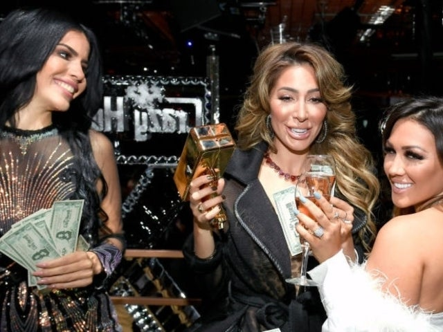 Farrah Abraham Parties With '90 Day Fiance' Star Larissa Dos Santos Lima, Ronnie Ortiz-Magro's Ex, Jen Harley, at Gentlemen's Club