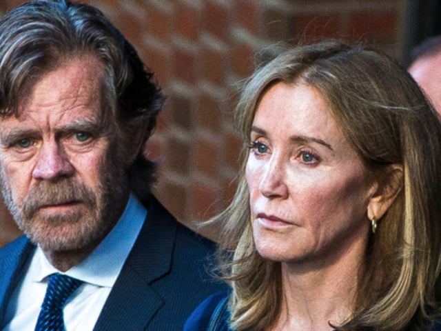 'Desperate Housewives' Star Felicity Huffman Photographed in Prison Jumpsuit During Family Visit