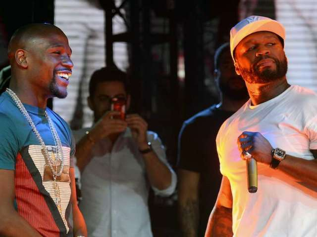 Floyd Mayweather and 50 Cent's Feud Was Just Reignited