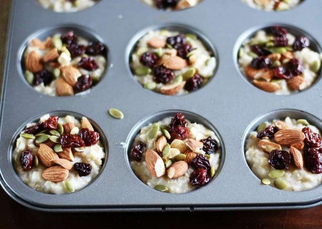 Frozen Single-Serve Oatmeal with Almond