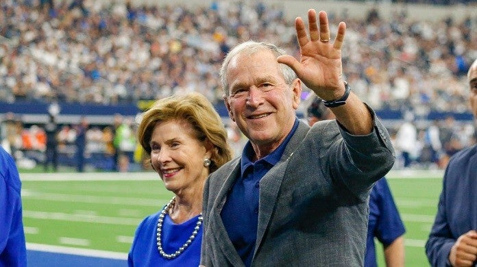 george-w-bush-cowboys-getty