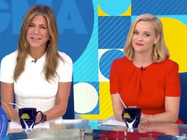 Watch Jennifer Aniston and Reese Witherspoon Take Over the 'GMA' Anchor Desk Live on TV