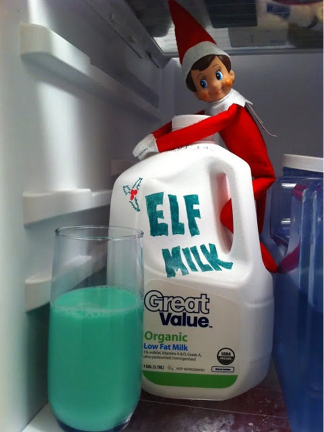 green elf milk