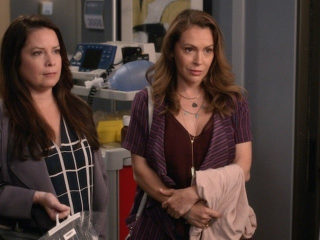 'Grey's Anatomy': First Look at 'Charmed' Stars Alyssa Milano and Holly Marie Combs' Reunion in Episode 3