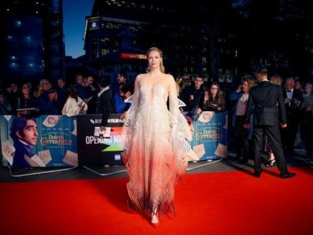 'Game of Thrones' Star Gwendoline Christie Stirs up Social Media With Yet Another Unique Red Carpet Look