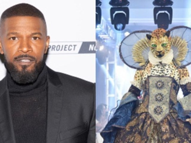 'Masked Singer': Jamie Foxx Stokes Rumors That He's the Leopard