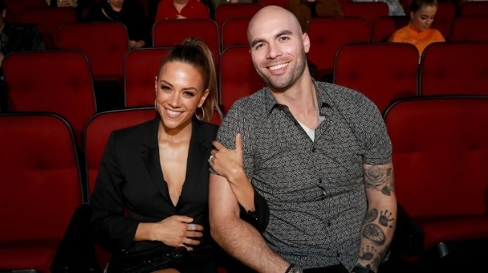 jana kramer mike caussin getty images