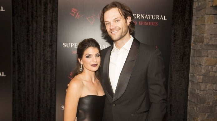 jared padalecki wife genevieve getty images