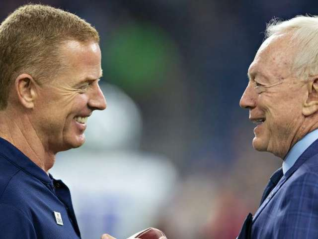 Jerry Jones Defends Jason Garrett's Coaching Tenure During Radio Show