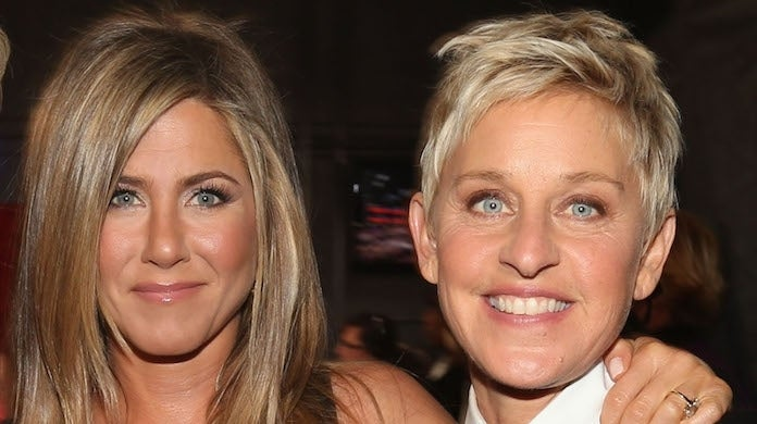 jennifer-aniston-ellen-degeneres_getty-Christopher Polk : Staff