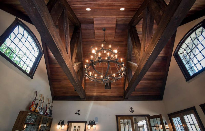 JeterCastleWoodBeams