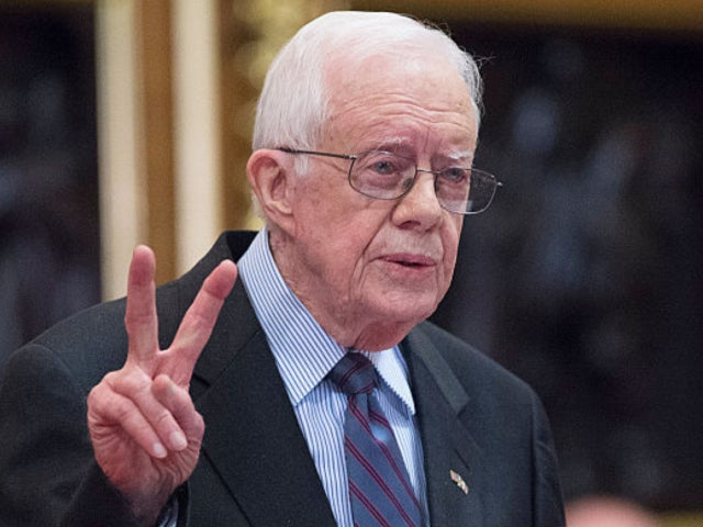 Former US President Jimmy Carter Falls at Home, Requires Stitches