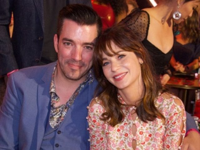 Zooey Deschanel Shows off Her Catwoman Look Alongside 'Property Brothers' Star Jonathan Scott's Batman