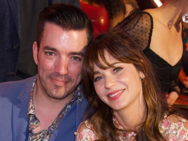 'Property Brothers' Star Jonathan Scott Snuggles up to Girlfriend Zooey Deschanel at She & Him Concert