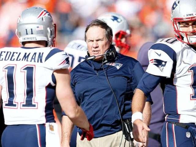 Patriots WR Julian Edelman Tells Tale of Naked Bill Belichick