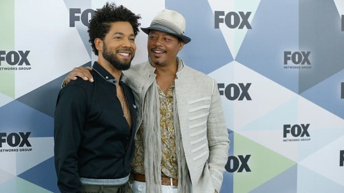 Jussie Smollett and Terrence Howard-2