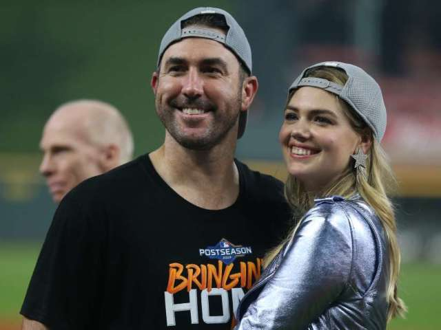 Kate Upton Sounds off on Interference Call During Game 6 of World Series