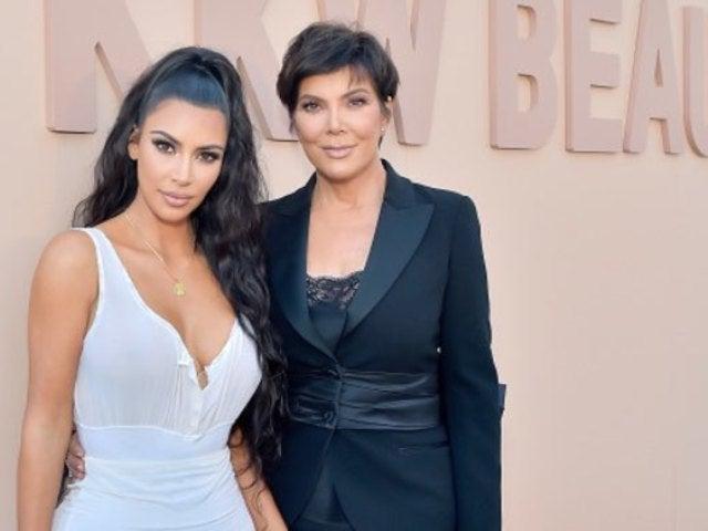 Kim Kardashian Busts out Classic Photo of Mom Kris Jenner's Post-Baby Bikini Body