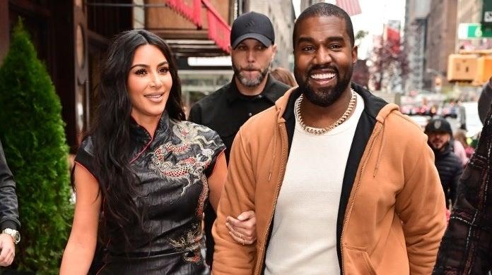 kim kardashian kanye west october 2019 getty images