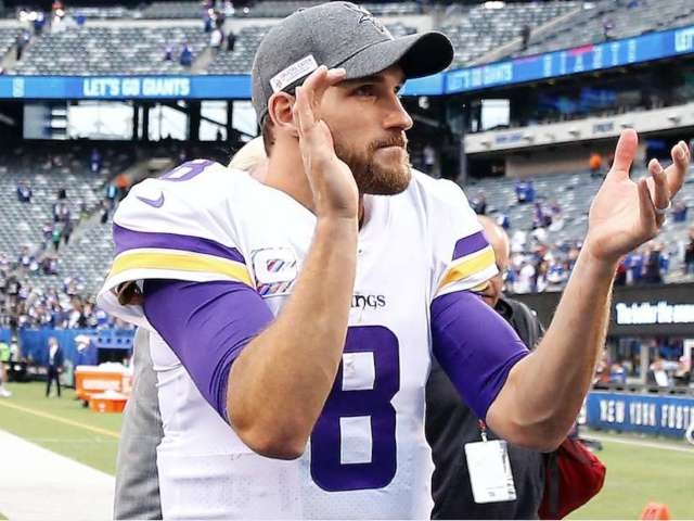 Donald Trump Calls Vikings QB Kirk Cousins Following Victory Over Giants