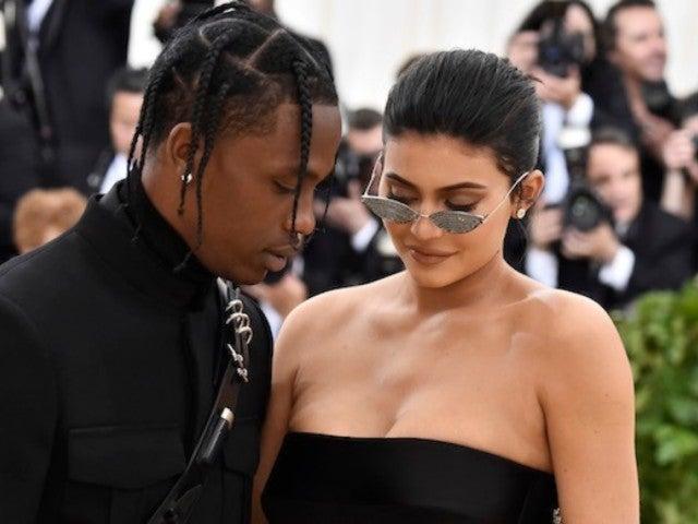 Kylie Jenner Drops Emoji Under Travis Scott's New Photo After Alleged 'Thirst Trap' Shade
