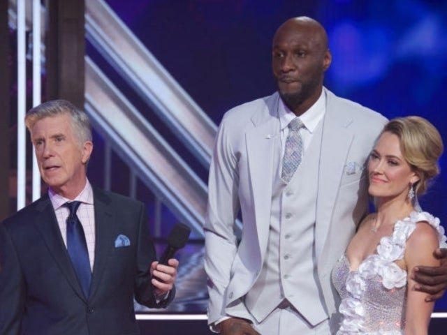 Lamar Odom Caught Adjusting His Private Area During 'DWTS' Live Taping