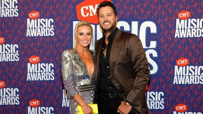 luke bryan caroline bryan getty images