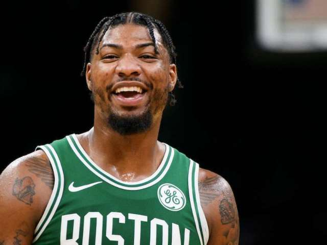Watch: Celtics' Marcus Smart Pranks Rookie Romeo Langford With a $4,500 Chipotle Charge