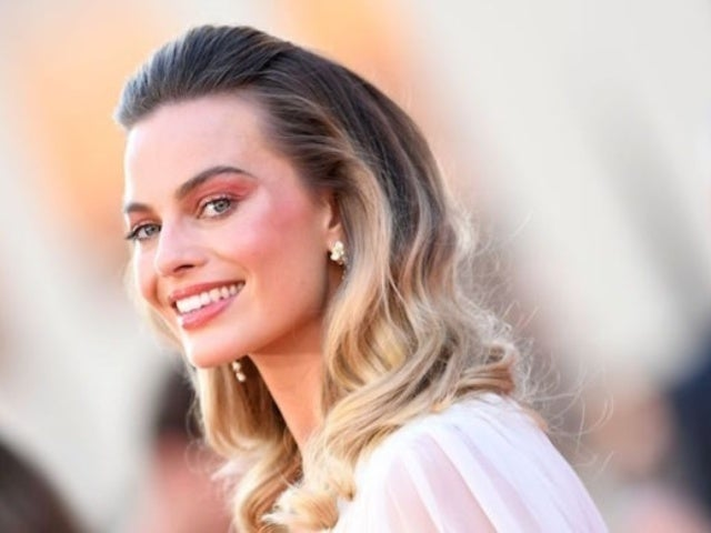 Margot Robbie's Wild Orange Hair From 29th Birthday Celebration Revealed