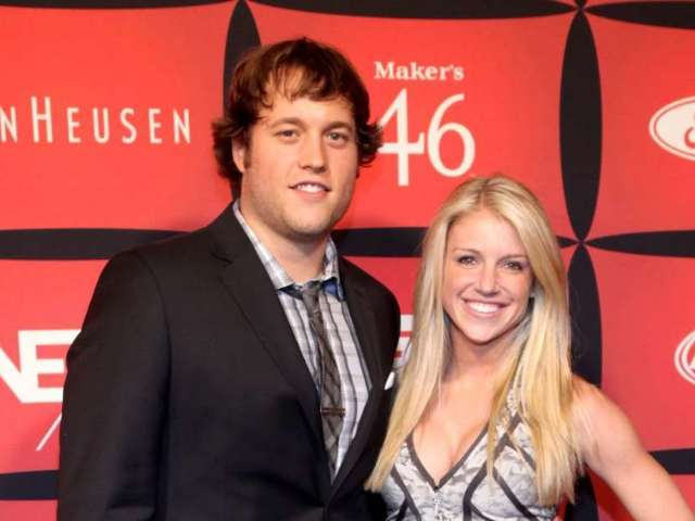 Matthew Stafford's Wife Kelly Uses Aaron Rodgers to Troll NFL Refs