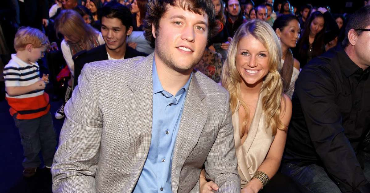 Matthew Stafford What to know about marriage Kelly Hall