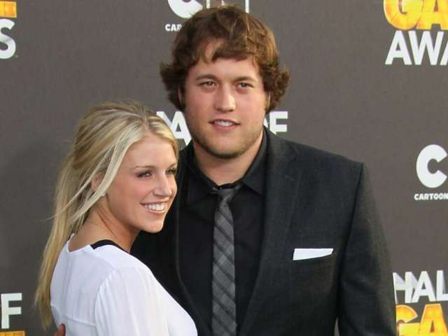 Matthew Stafford's Wife Kelly Writes About Experience With Brain Tumor