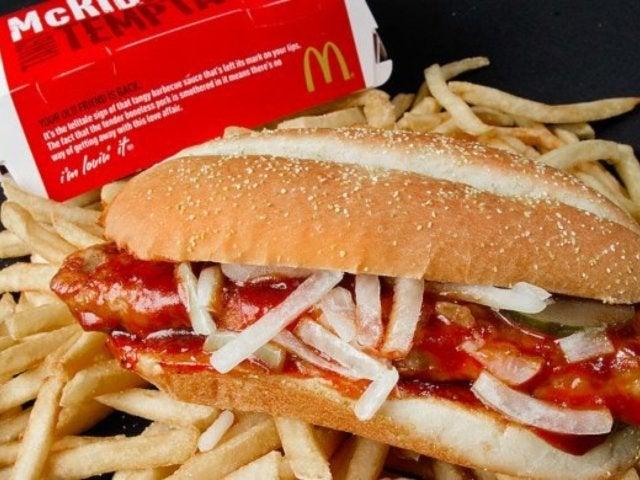 McRib Returning to McDonald's This Fall