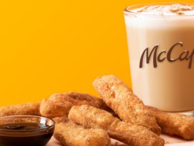 McDonald's Debuts Cinnamon Cookie Latte and Donut Sticks Ahead of Holidays