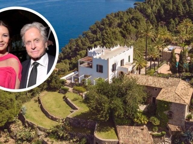Peek Inside Michael Douglas and Catherine Zeta Jones' $32.7M Dreamy Mediterranean Island Home