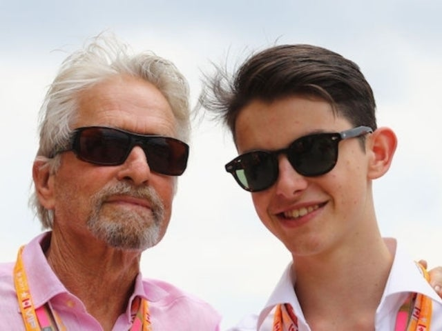 Michael Douglas Posts Bizarre 'Bonding Experience' Photo With Son as They Both Pee in the Bushes