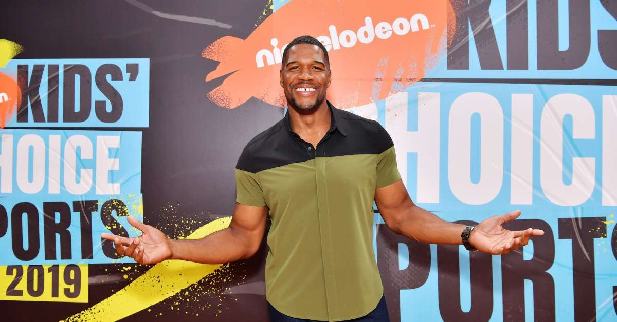Michael Strahan Child Support Case lavish collectible