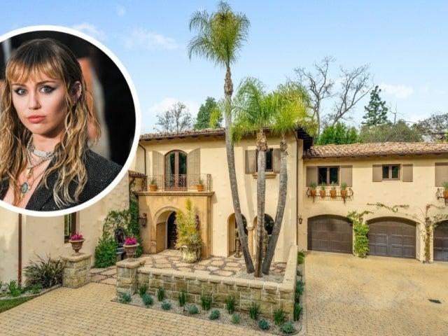 Tour Miley Cyrus' Luxurious 8,700-Square Foot, $5.9M Toluca Lake Home