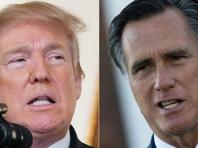 Donald Trump Blasts 'Failed Presidential Candidate' Mitt Romney With Scathing Video