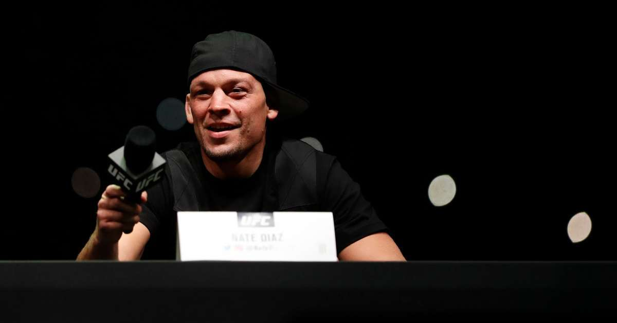 Nate Diaz fight Jorge Masvidal cleared UFC 244