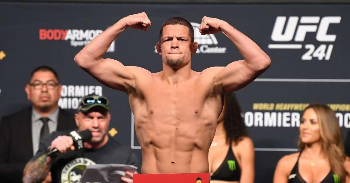 Nate Diaz Out UFC 244 Drug Test Dispute Jorge Masvidal