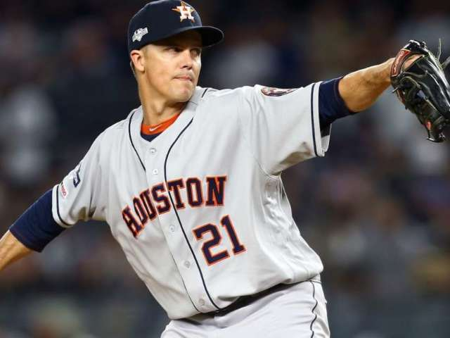 New York Yankees Fan Ejected From Game for Taunting Houston Astros Pitcher Zack Greinke