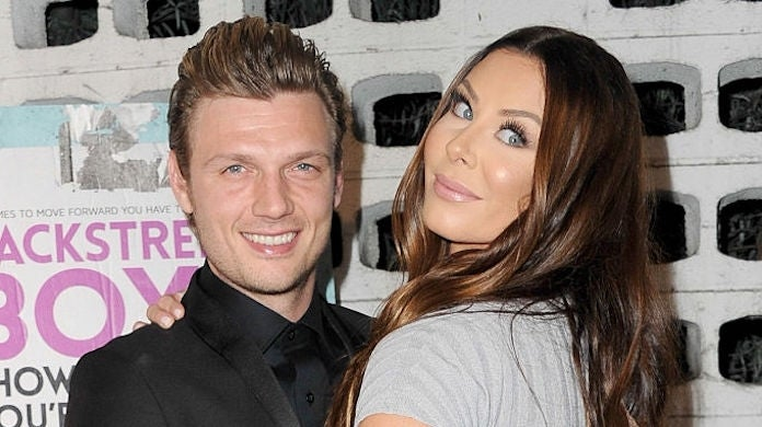 nick-carter-lauren-kitt_Getty-Allen Berezovsky : Contributor