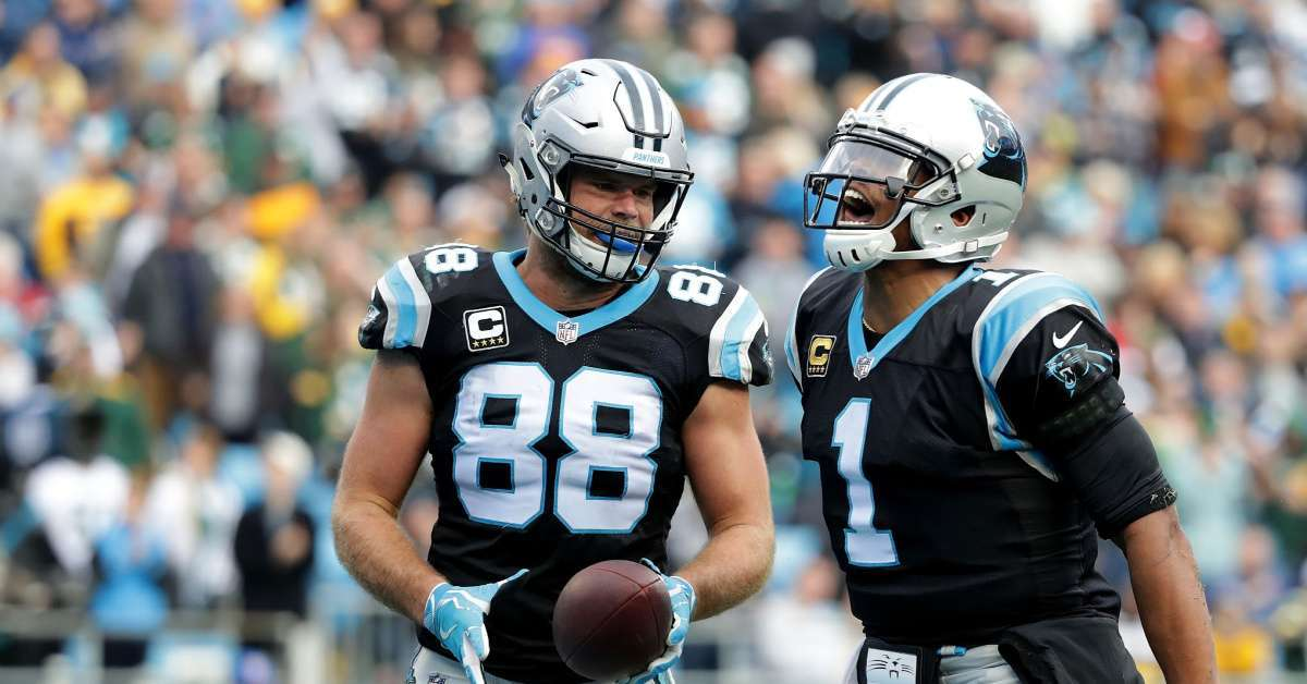 Panthers Greg Olsen Cam Newton weighs in future  don't bet against cam