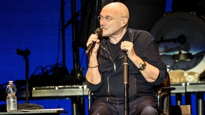 phil collins getty images