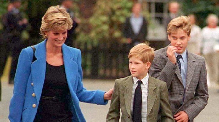 Princess Diana, Prince William and Prince Harry-2
