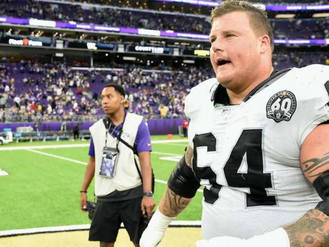Oakland Raiders' Richie Incognito Penalized for Shoving Bears Player's Head Into Turf