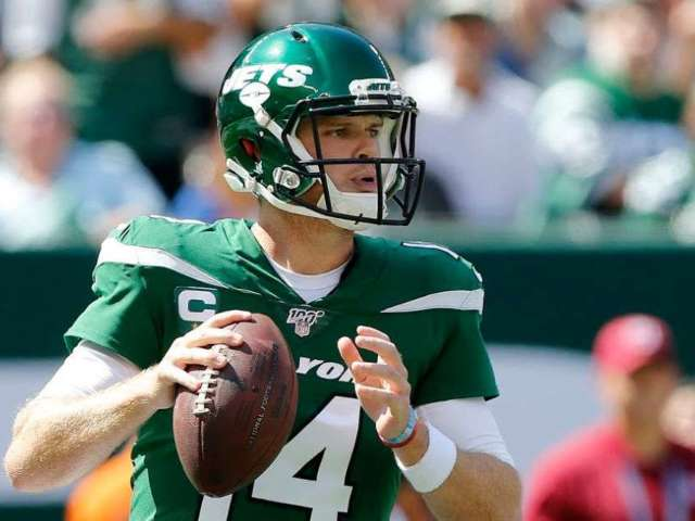 New York Jets Announce QB Sam Darnold Is out for Sunday's Game Due to Mono Complications