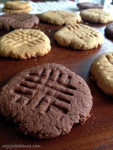 skinny PB cookies