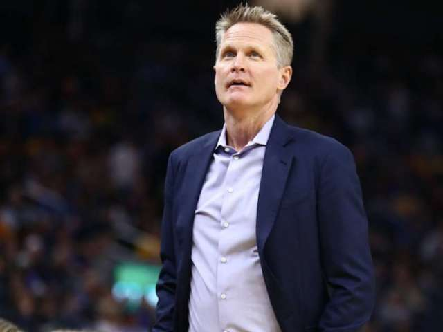Warriors Coach Steve Kerr Takes the High Road With Response to Donald Trump's Criticism